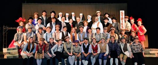 """Parowan High School is performing """"Newsies"""" on Nov. 14-17 and 19-20."""