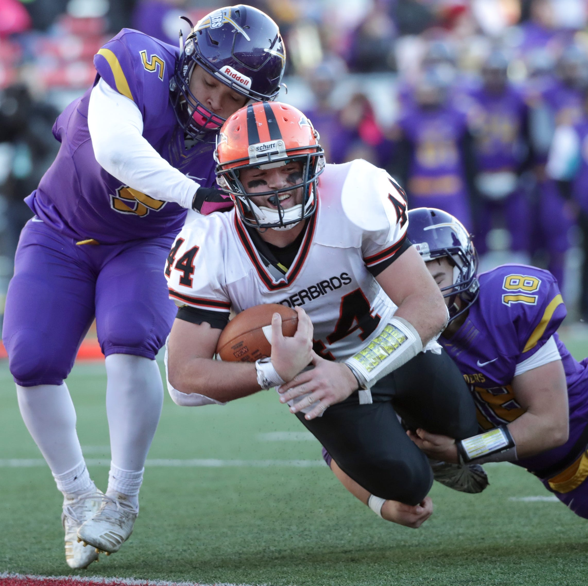High school football: I-S's Bryce Huettner surprised by state's top honor from AP