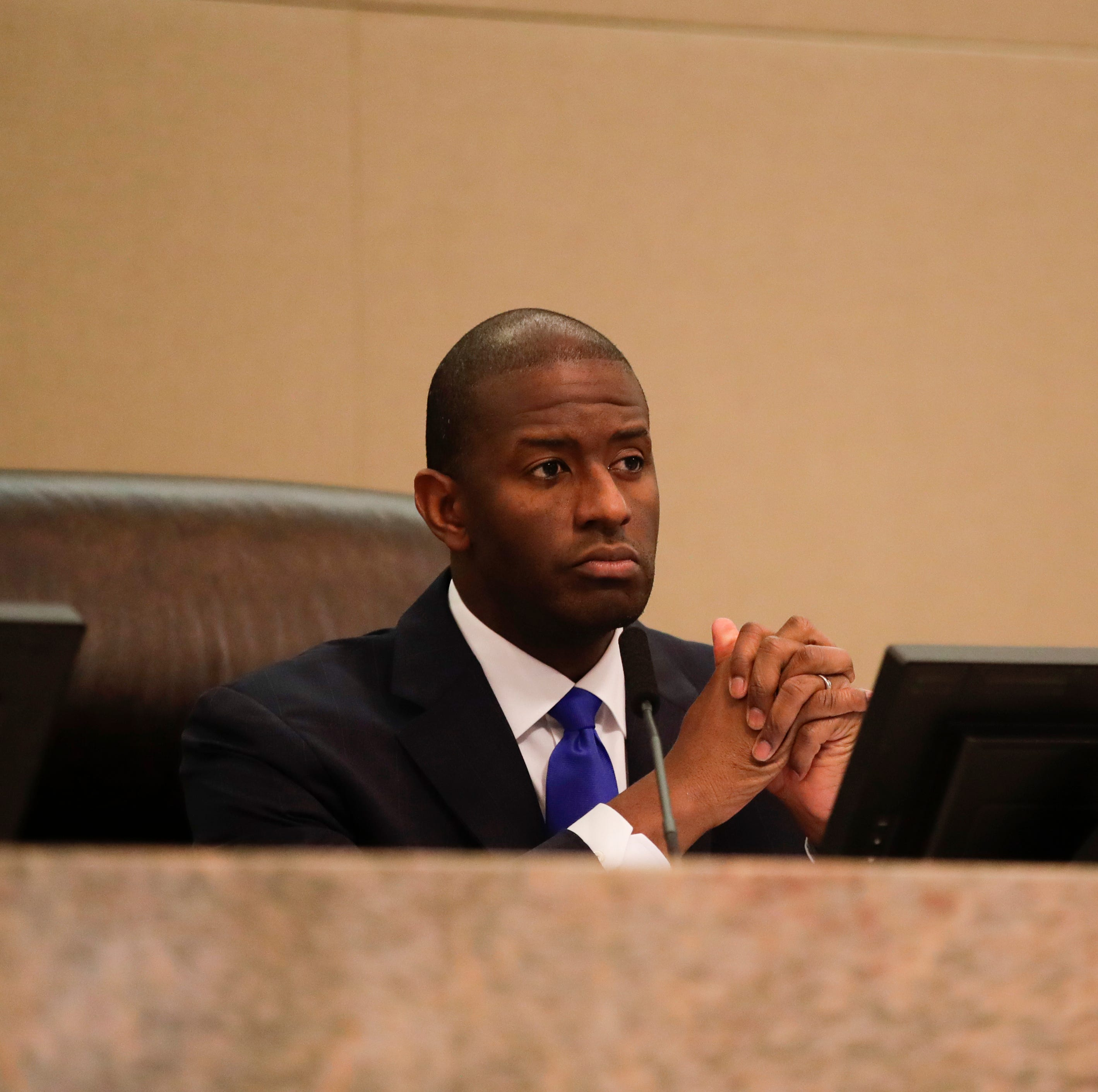 As Florida machine recount upholds Ron DeSantis win, Andrew Gillum keeping options open