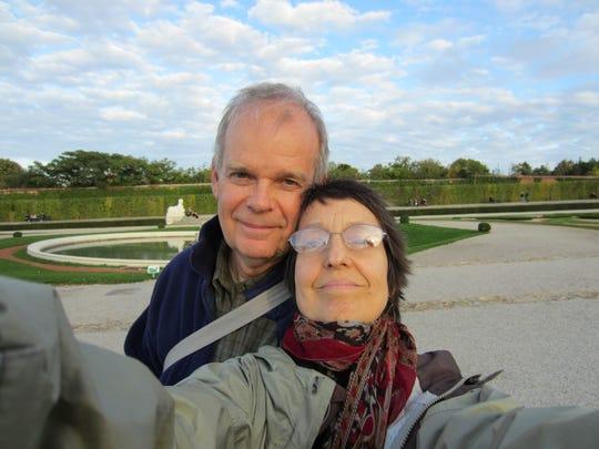Vera Orlock and her husband Jack Windhorst