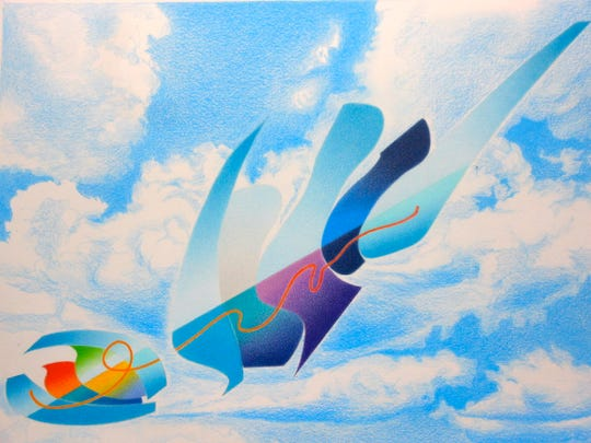 Searching for Fresh Air by Ray Burggraf is part of new show opening Dec. 7 at Venvi Art Gallery.