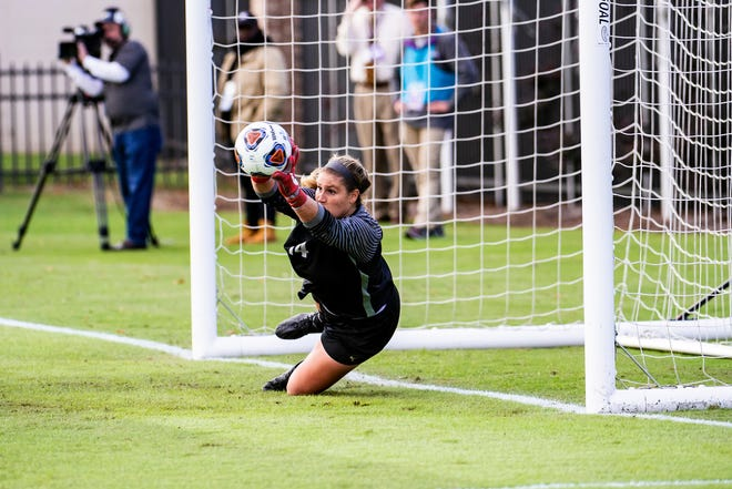 LSU goalkeeper and Tallahassee native Caroline Brockmeier returns to FSU this weekend with 10 shutouts this season.