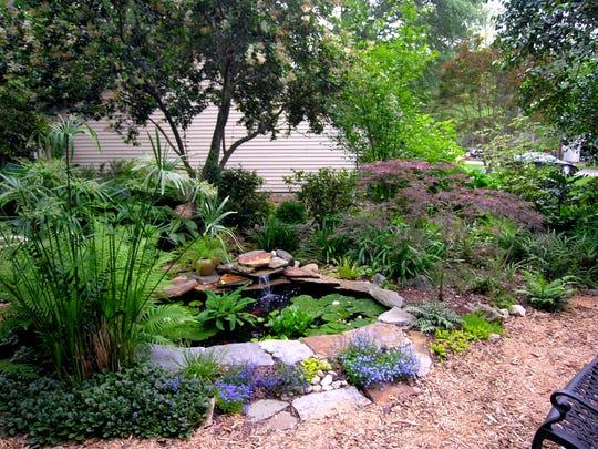 Vera Orlock's garden