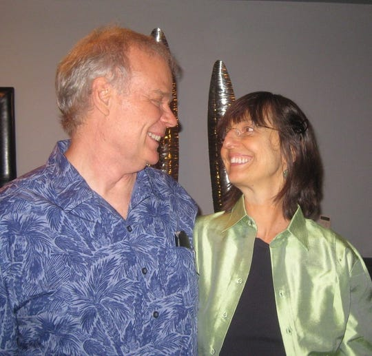 Vera Orlock with her husband Jack Windhorst