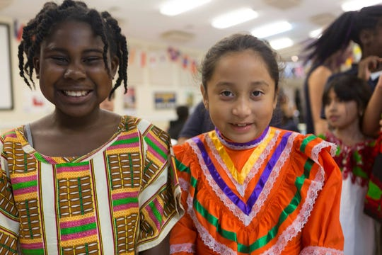 Students and staff at the Tallahassee School of Math and Science gathered to celebrate Hispanic culture during the school's Hispanic Heritage Night on Nov. 1.