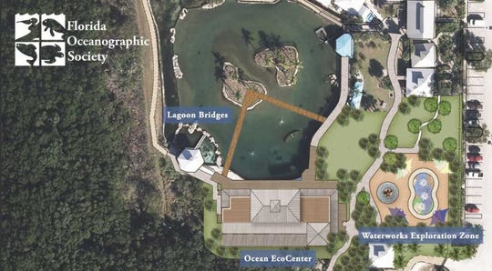 Here's how the Florida Oceanographic Society's campus on Hutchinson Island in Stuart will look after the expansion project.