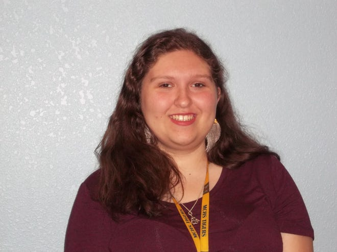 Erin Whelpley, a sophomore at Martin County High School, is being recognized as the United Way of Martin County CHARACTER COUNTS! Student of the Week for the week of Nov. 28.