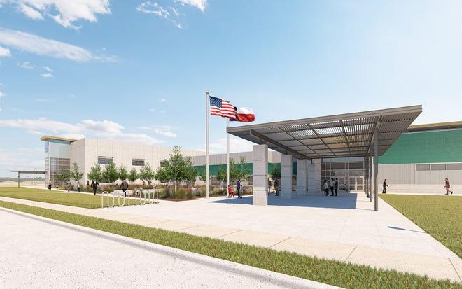 Artist renderings of SISD's newest campus, Cactus Trails Elementary
