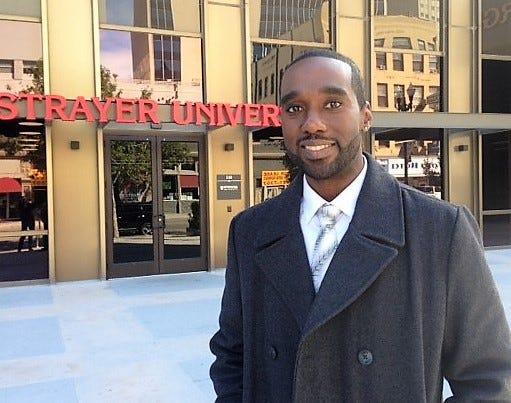 Donald White, El Paso campus director for Strayer University.
