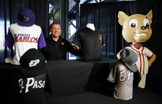 Main El Paso Chihuahuas New Designs