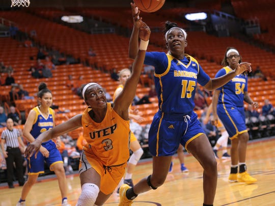 UTEP fought a back-and-forth battle against CSU Bakersfield Tuesday at the Don Haskins Center. The Miners came out on top 53-47.