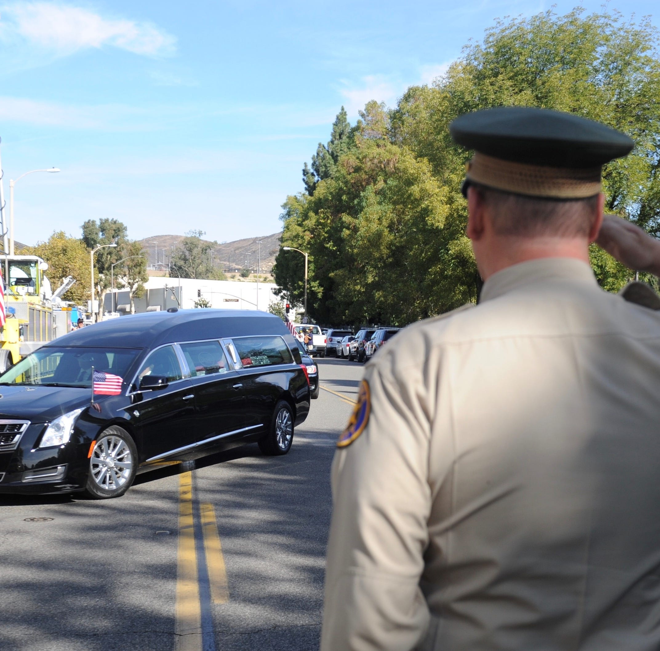 Ventura County Sheriff's Sgt. Ron Helus remembered at noon service