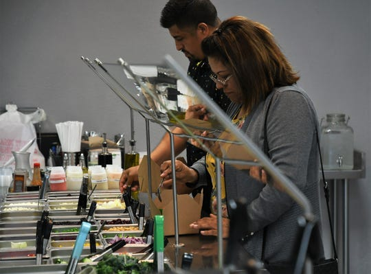 A balance of freshness and affordability has earned The Salad Shop a wide following across Visalia.