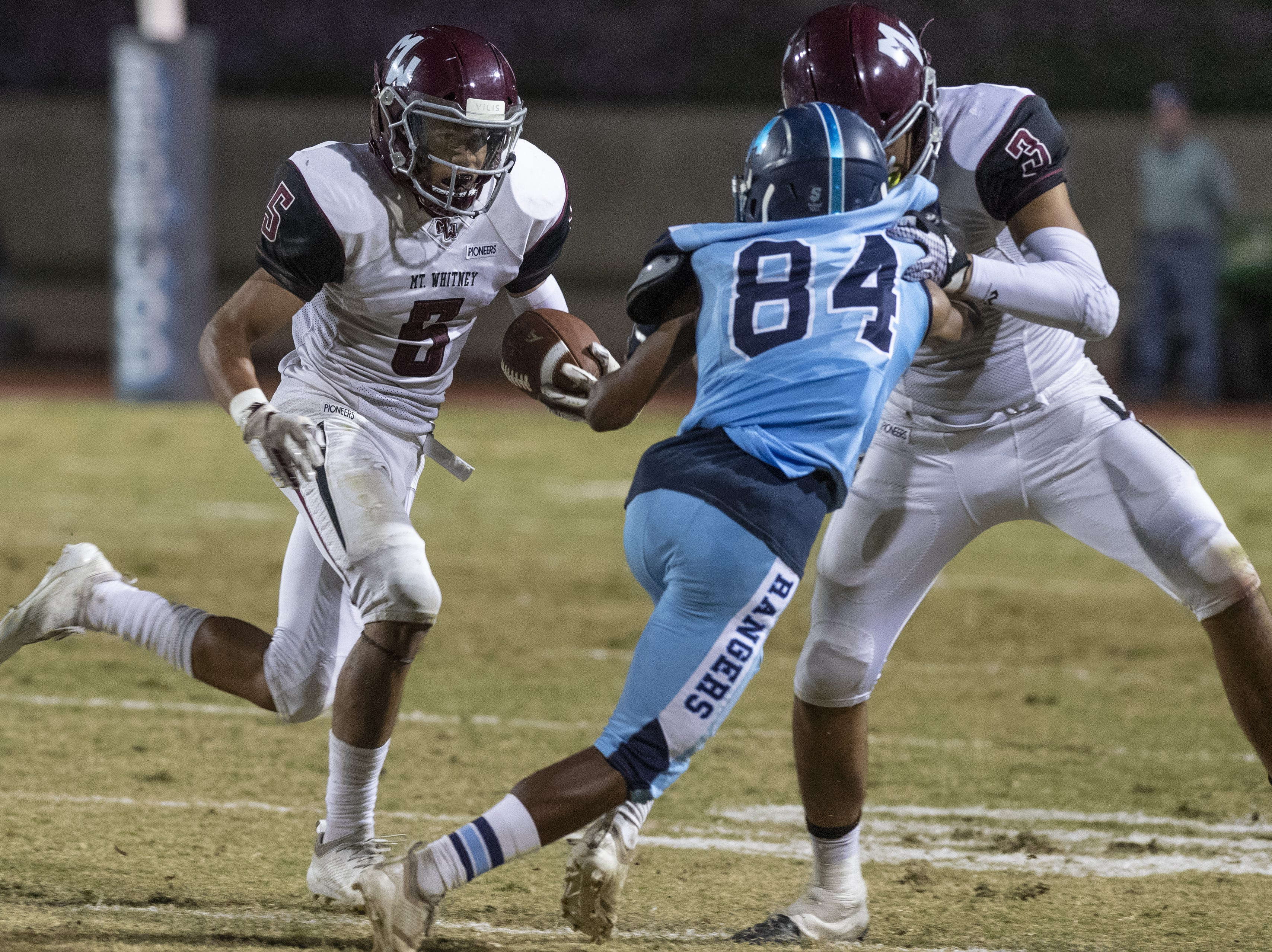 Double impact: Two-way starters shining for Mt. Whitney
