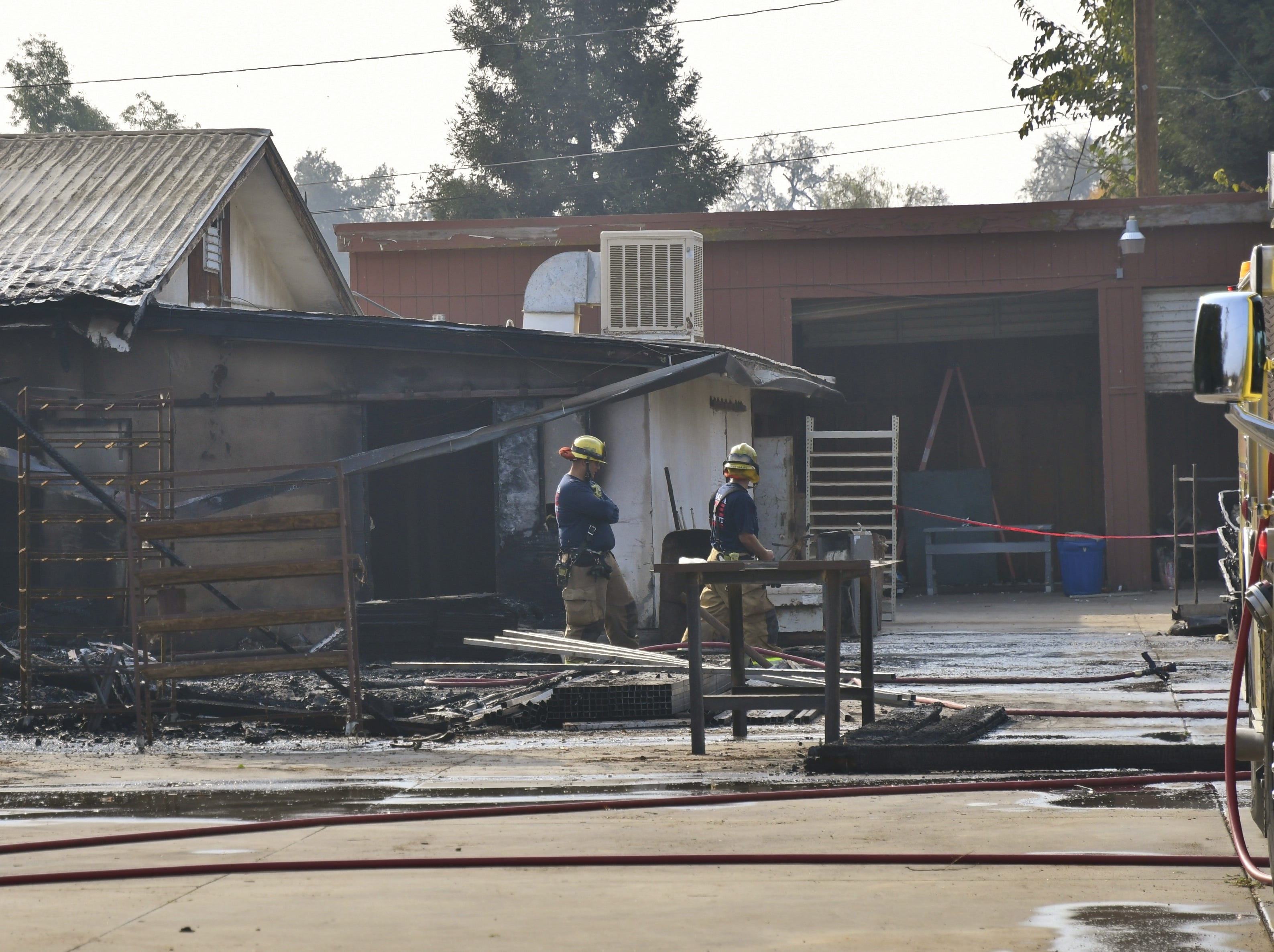 BREAKING: Three-alarm fire destroys another Valley cricket farm, this one in Visalia