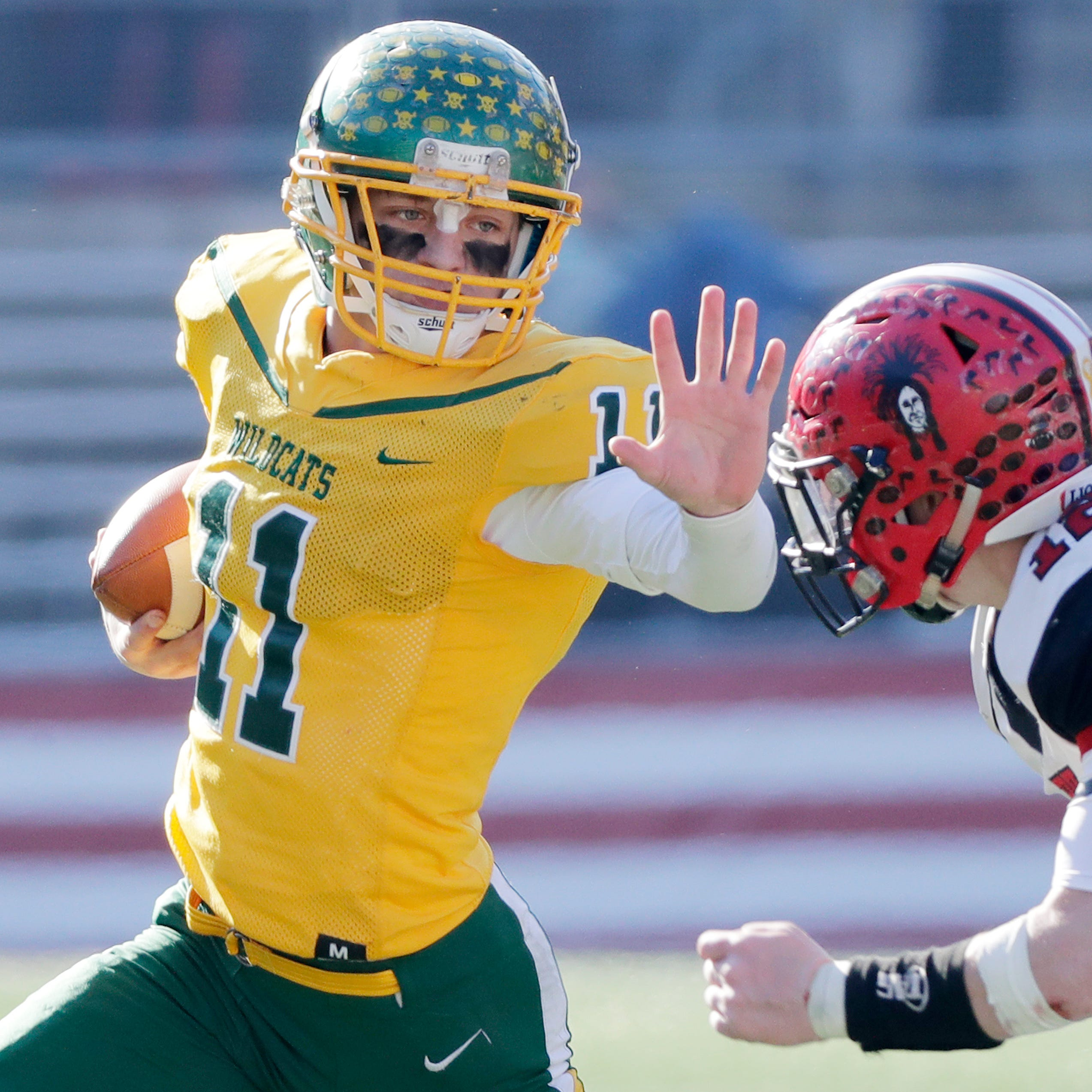 WIAA state football: Mistake-prone Edgar foiled in bid for eighth state title