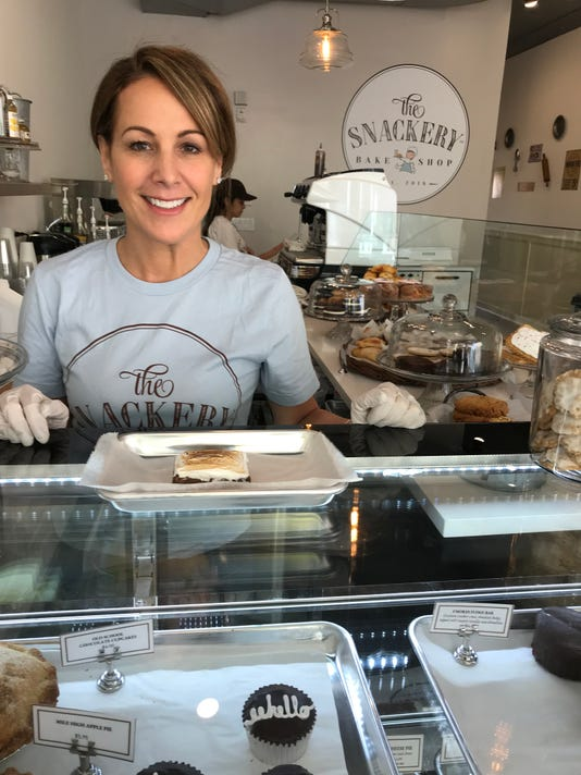 Sara At Bake Shop