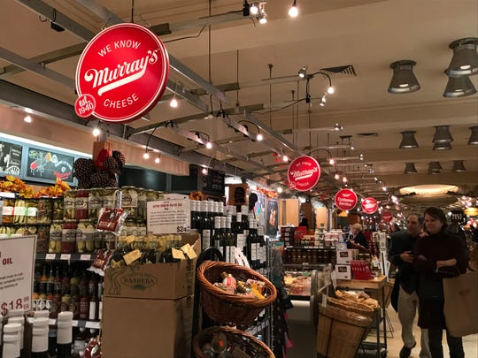 Murray's shop at Grand Central Market offers a variety of gourmet food options beyond cheese.