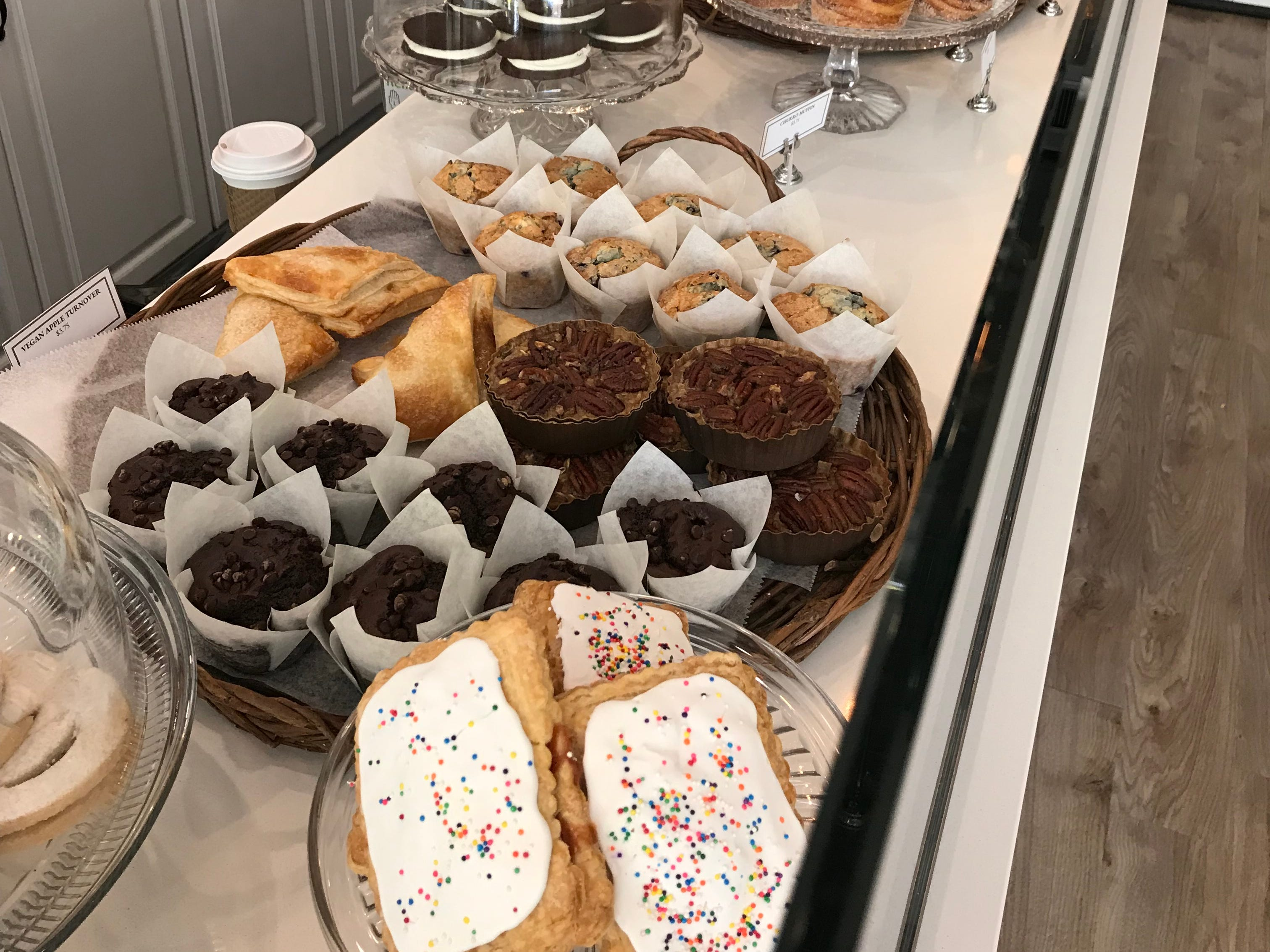 Some of the goodies at The Snackery Bake Shop in Larchmont.