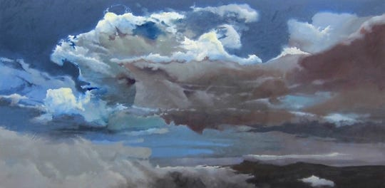"""Gathering Storm,"" a work by Howard Nathenson, is part of an exhibit at the Rockefeller State Park Preserve in Pleasantville opening Nov. 24."