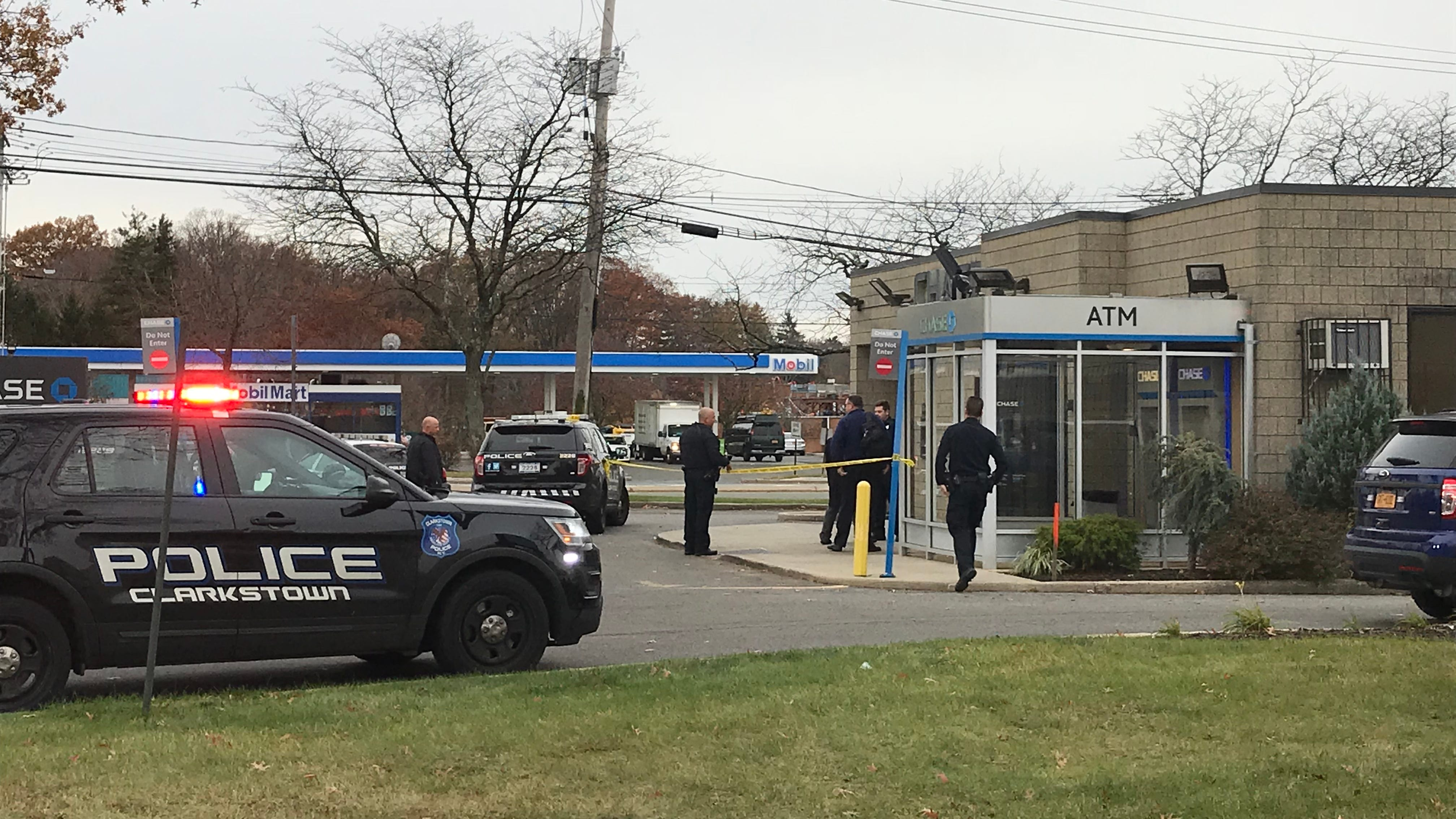 Clarkstown police investigate a possible robbery...