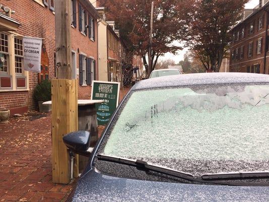 Snow flakes Nov. 15