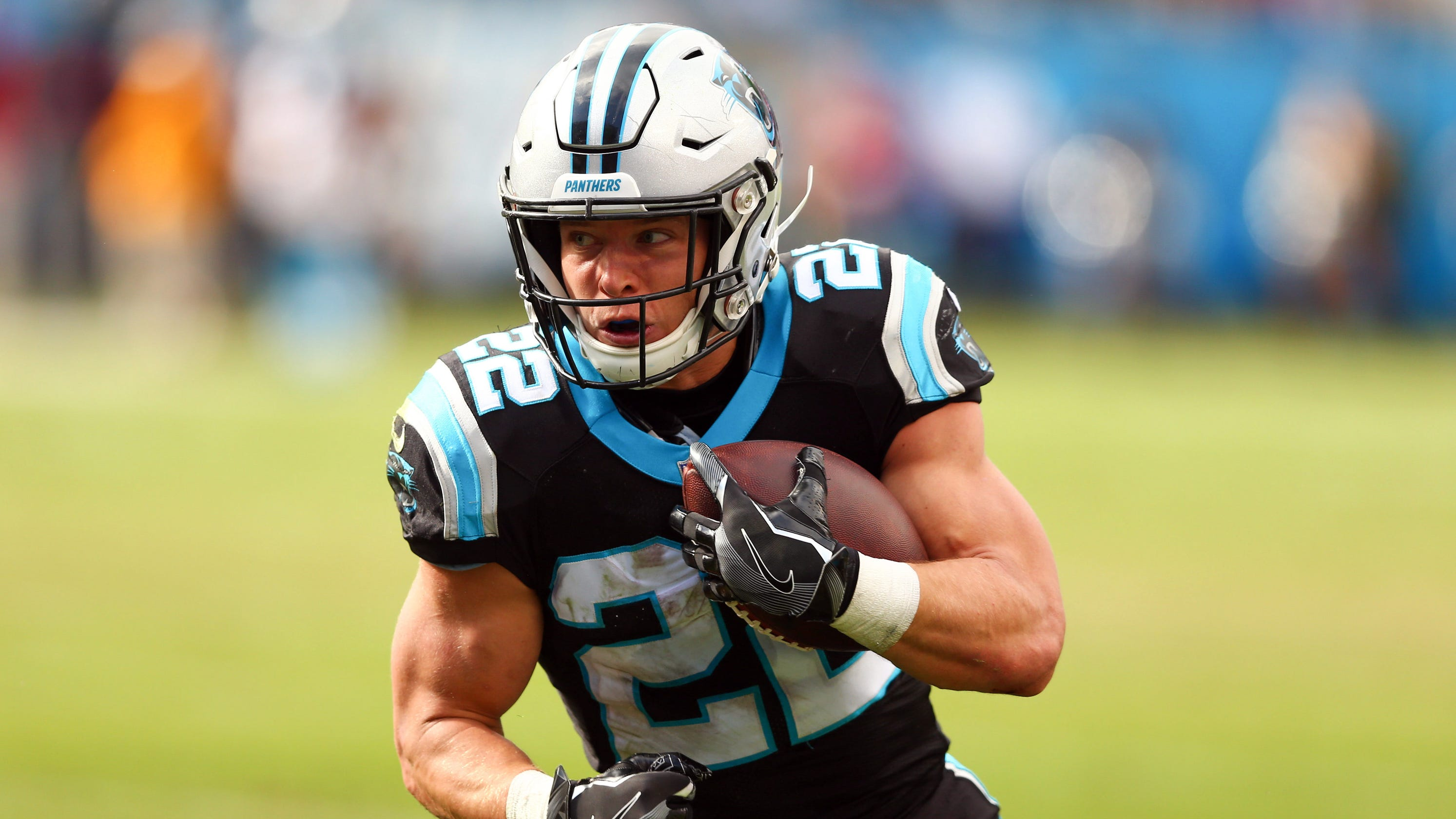 Be like water   Panthers RB Christian McCaffrey s peaceful flow is key to breakout  season 3e6562c10