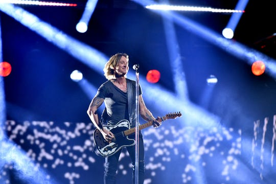 Singer-songwriter Keith Urban performs onstage during the 52nd annual CMA Awards at the Bridgestone Arena on November 14, 2018 in Nashville, Tennessee. He will be at this year's Taste of Country festival at Hunter Mountain in June.