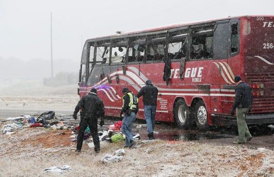 Usp News Desoto County Tour Bus Crash New Usa Ms