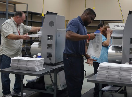 Florida Recount Election 2018