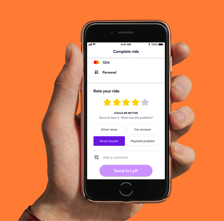 Lyft's new driver feature will need riders to explain why a driver wasn't five stars.