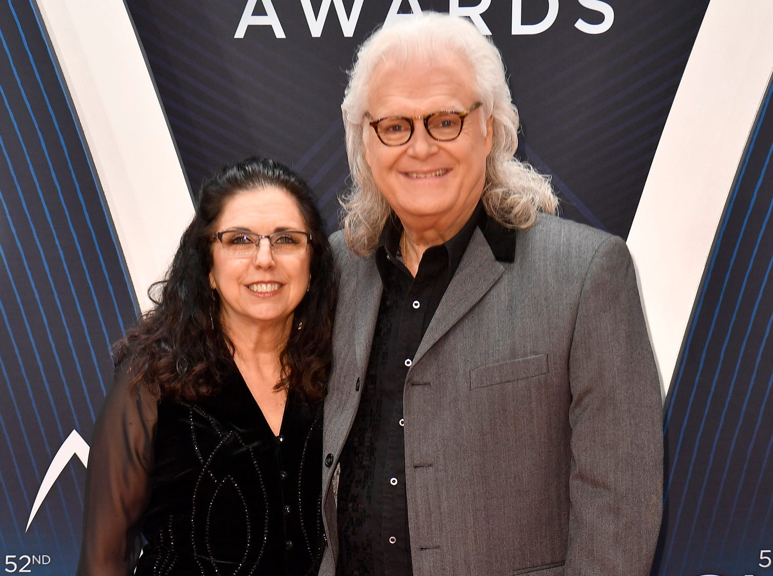 Ricky Skaggs and wife Sharon White