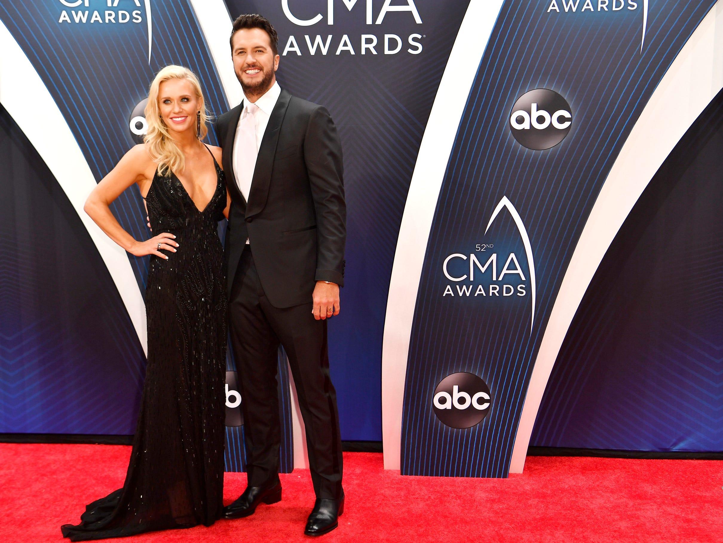 Luke Bryan and wife Caroline Boyer