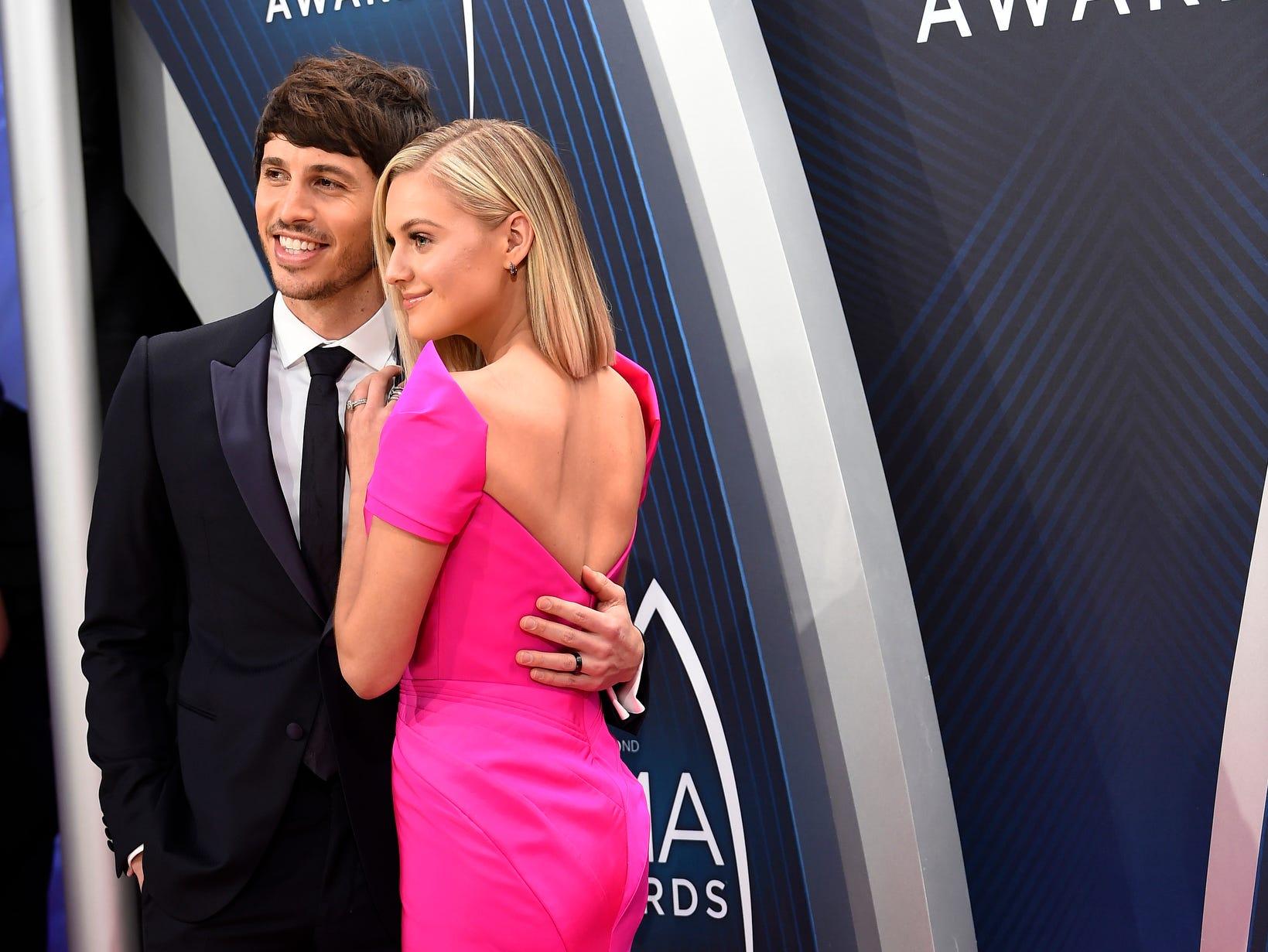 Kelsea Ballerini and husband Morgan Evans
