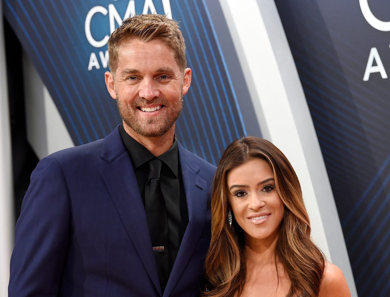 Newlyweds Brett Young and Taylor Mills