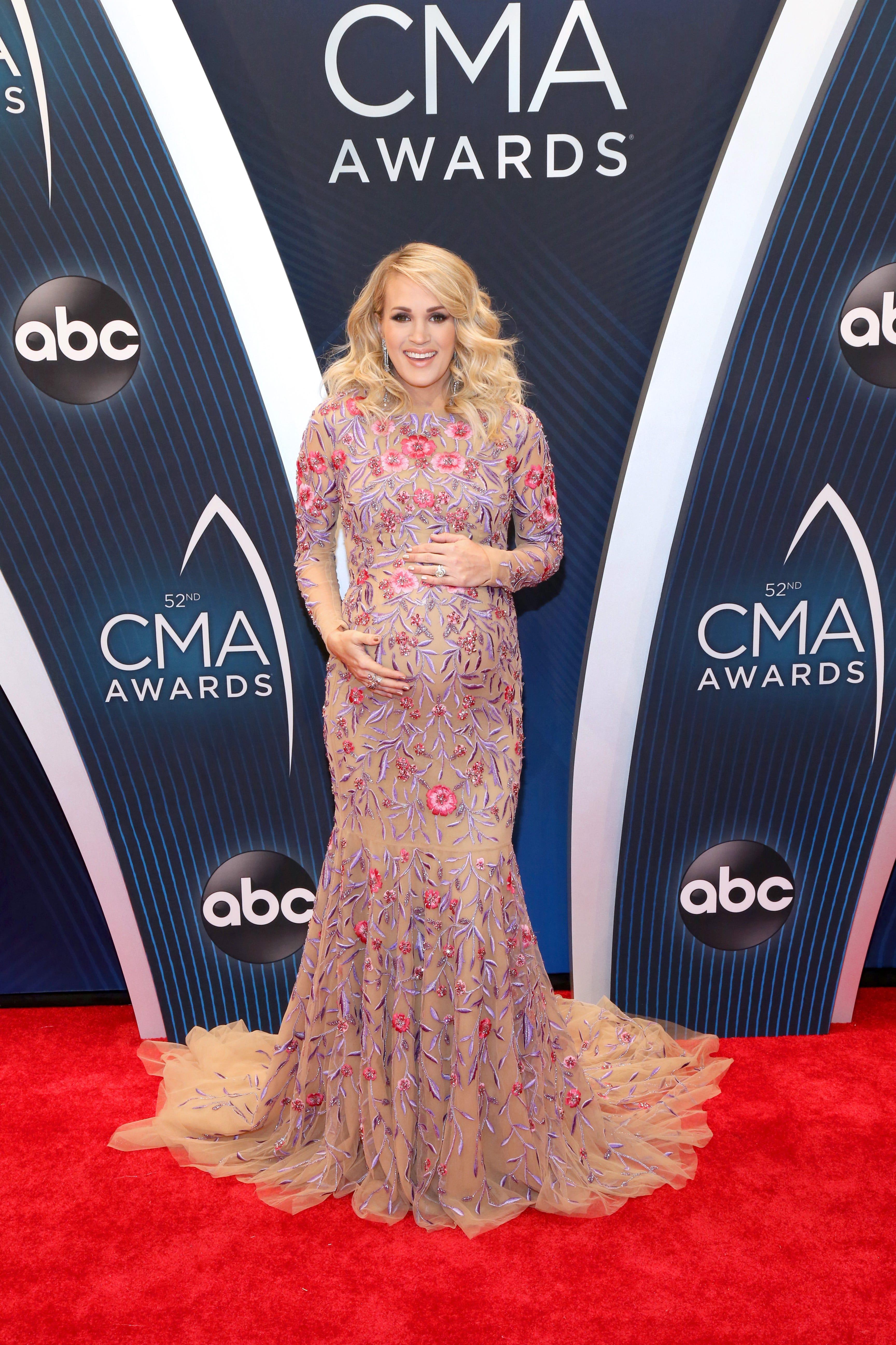 Carrie Underwood Red Carpet Dresses
