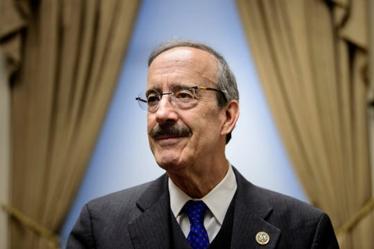 Ranking member of the House Foreign Relations Committee, Rep. Representative Eliot Engel (D-NY), who is a leading candidate to take over the panel, poses for a portrait in his office on Capitol Hill November 15, 2018 in Washington, DC.