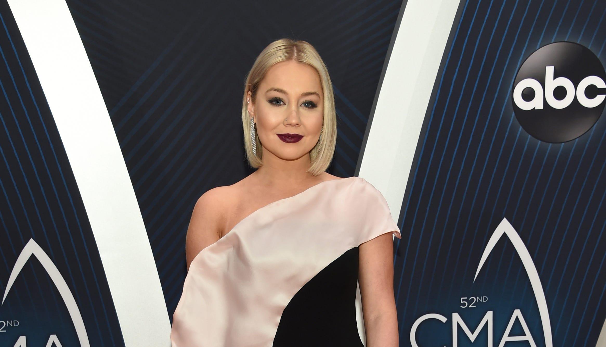 RaeLynn arrives at the 52nd annual CMA Awards at Bridgestone Arena on Wednesday, Nov. 14, 2018, in Nashville, Tenn.