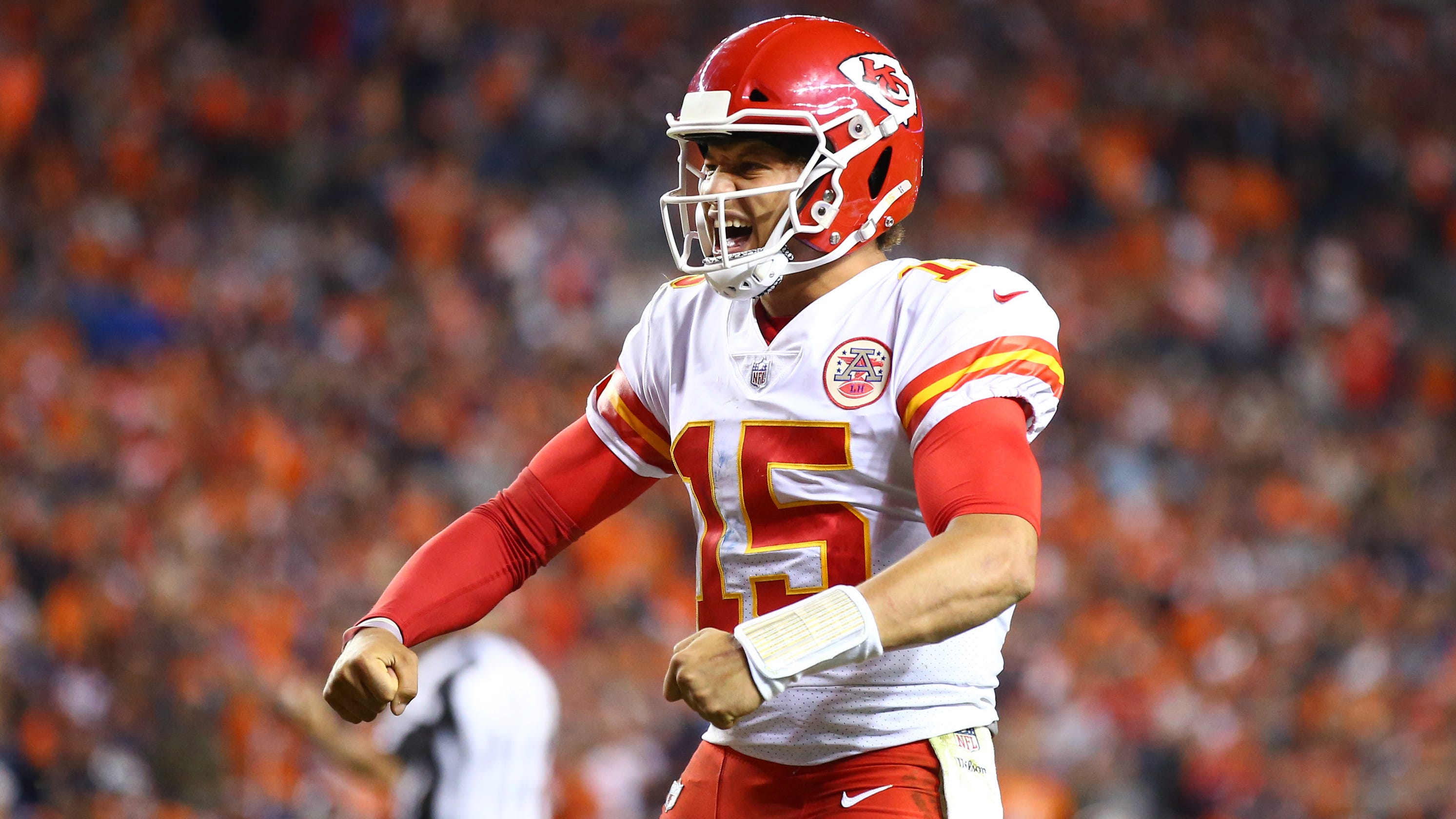8c8e9386f77 Chiefs  Patrick Mahomes could get ketchup for life if he hits TD mark