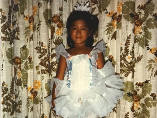 Jennifer Frantz as a kid.