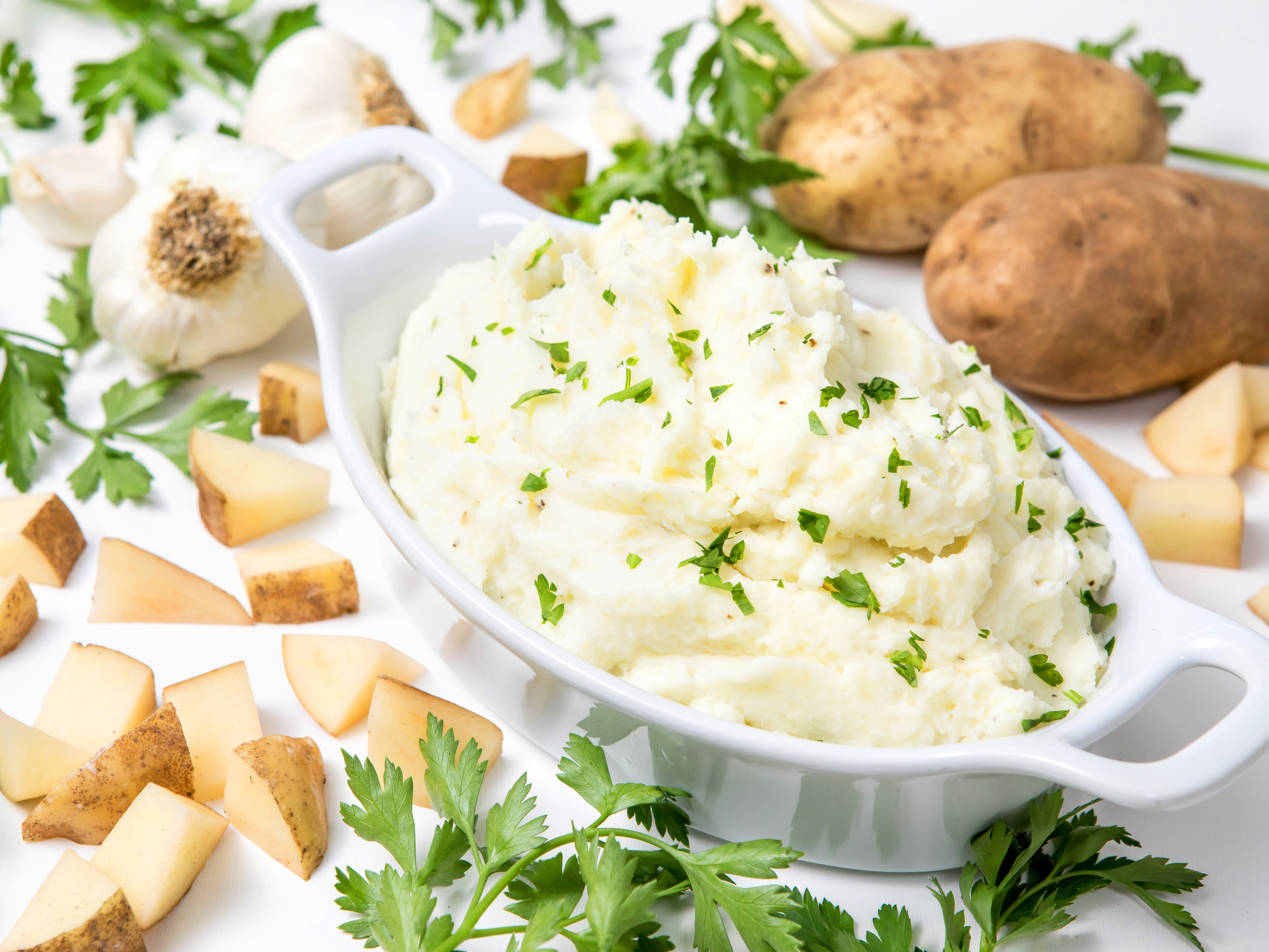 Creamy Greek Yogurt Mashed Potatoes