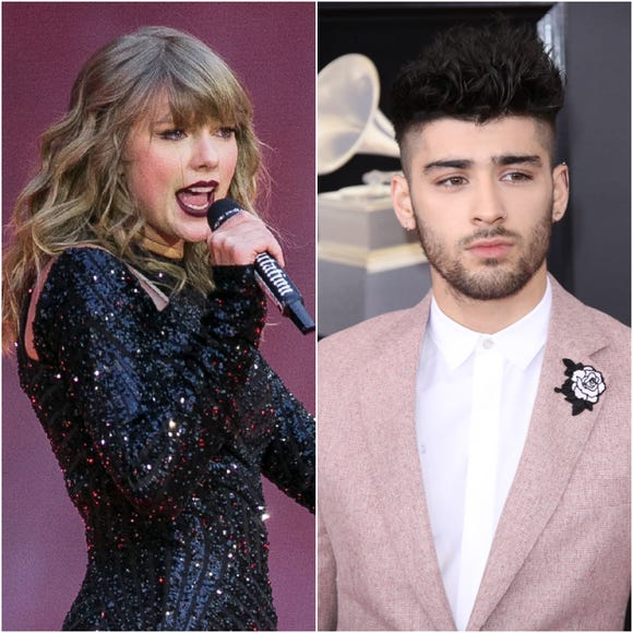 Look what you made her do: Singer Zayn Malik has revived a crazy rumor about the lengths Taylor Swift has gone to escape the paparazzi.