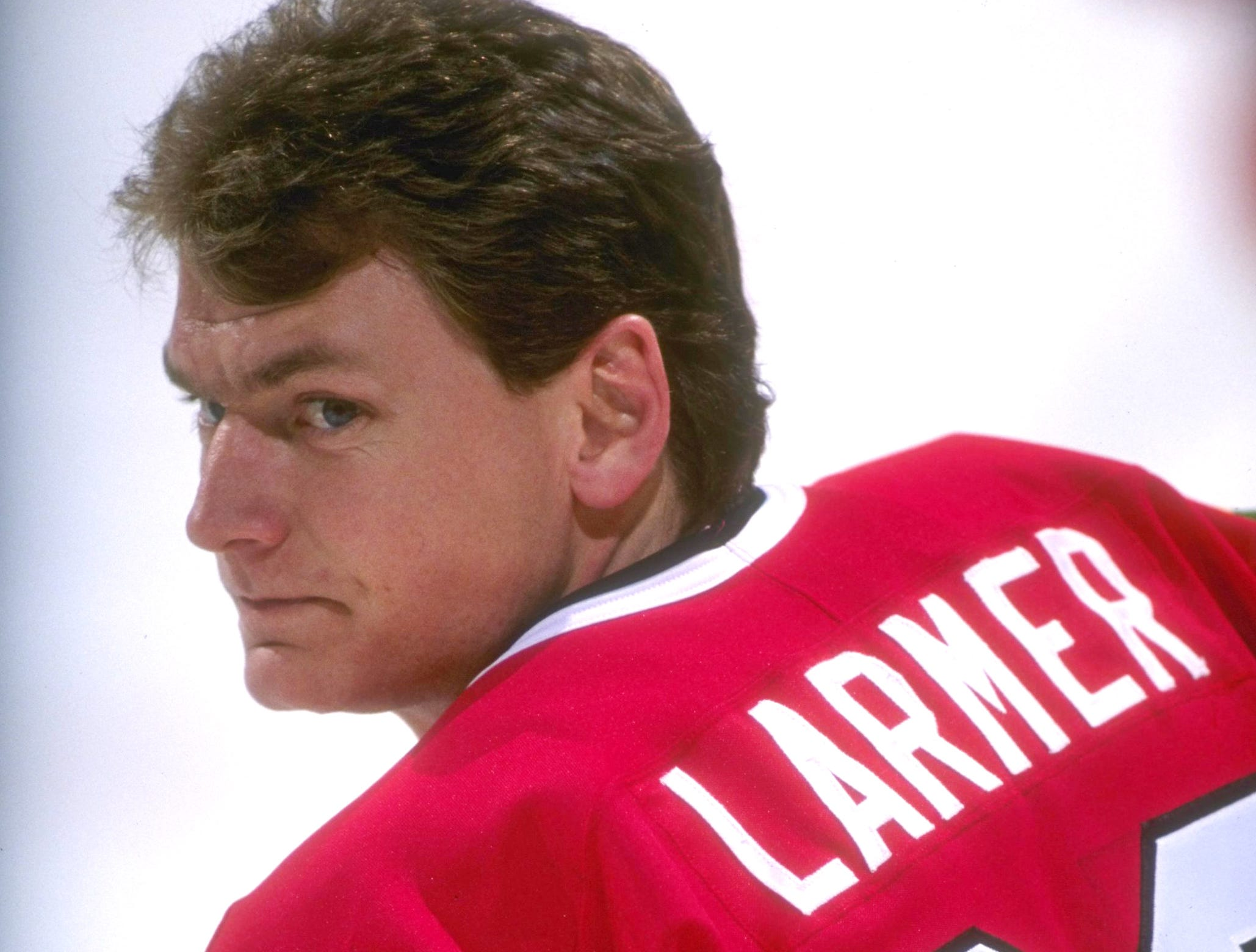 28: Steve Larmer (1982-95). Also: Claude Giroux