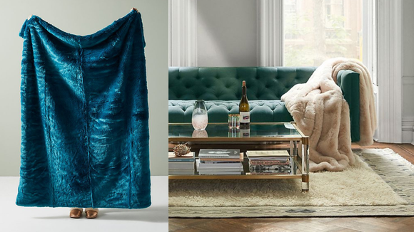 The best luxury gifts of 2018: Faux Fur Blanket