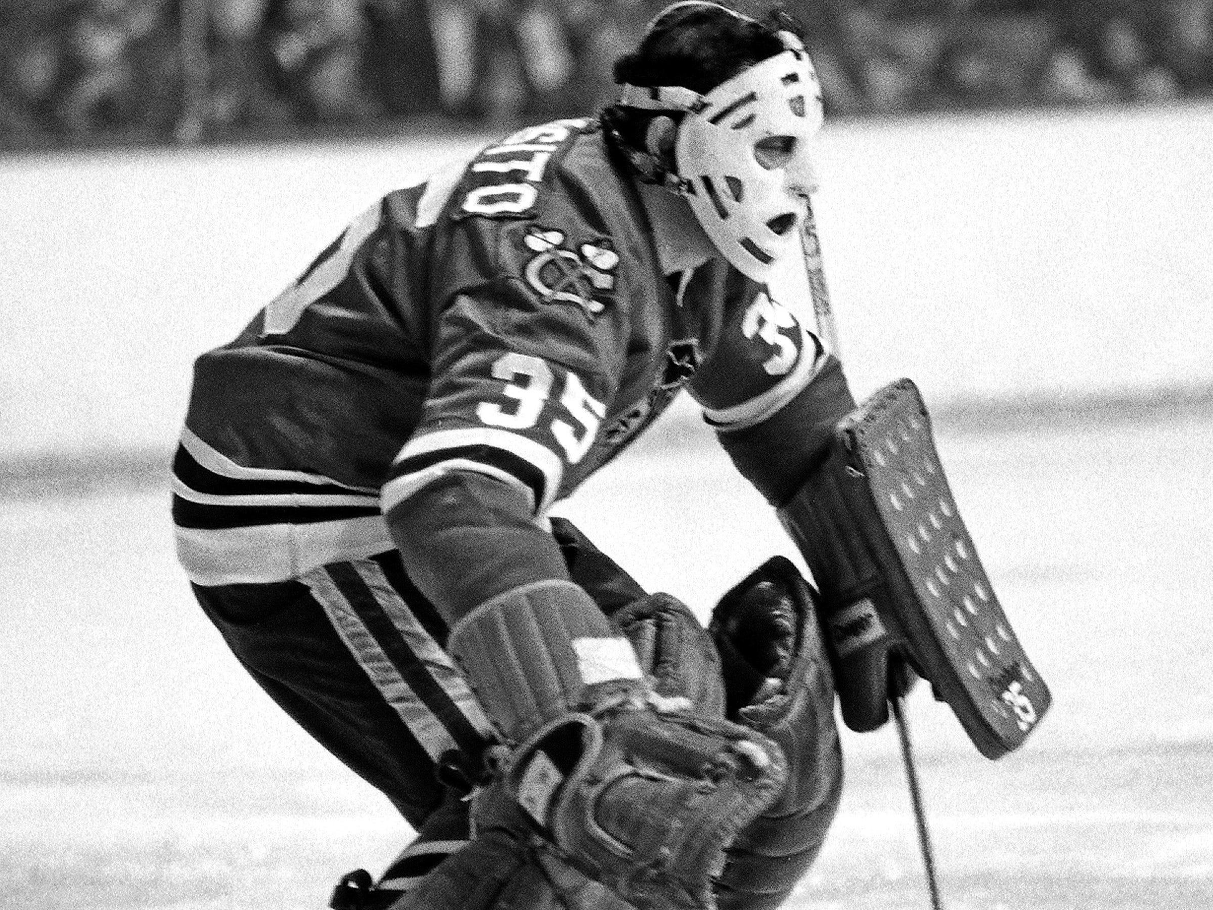 35. Tony Esposito (1969-84). Also: Tom Barrasso
