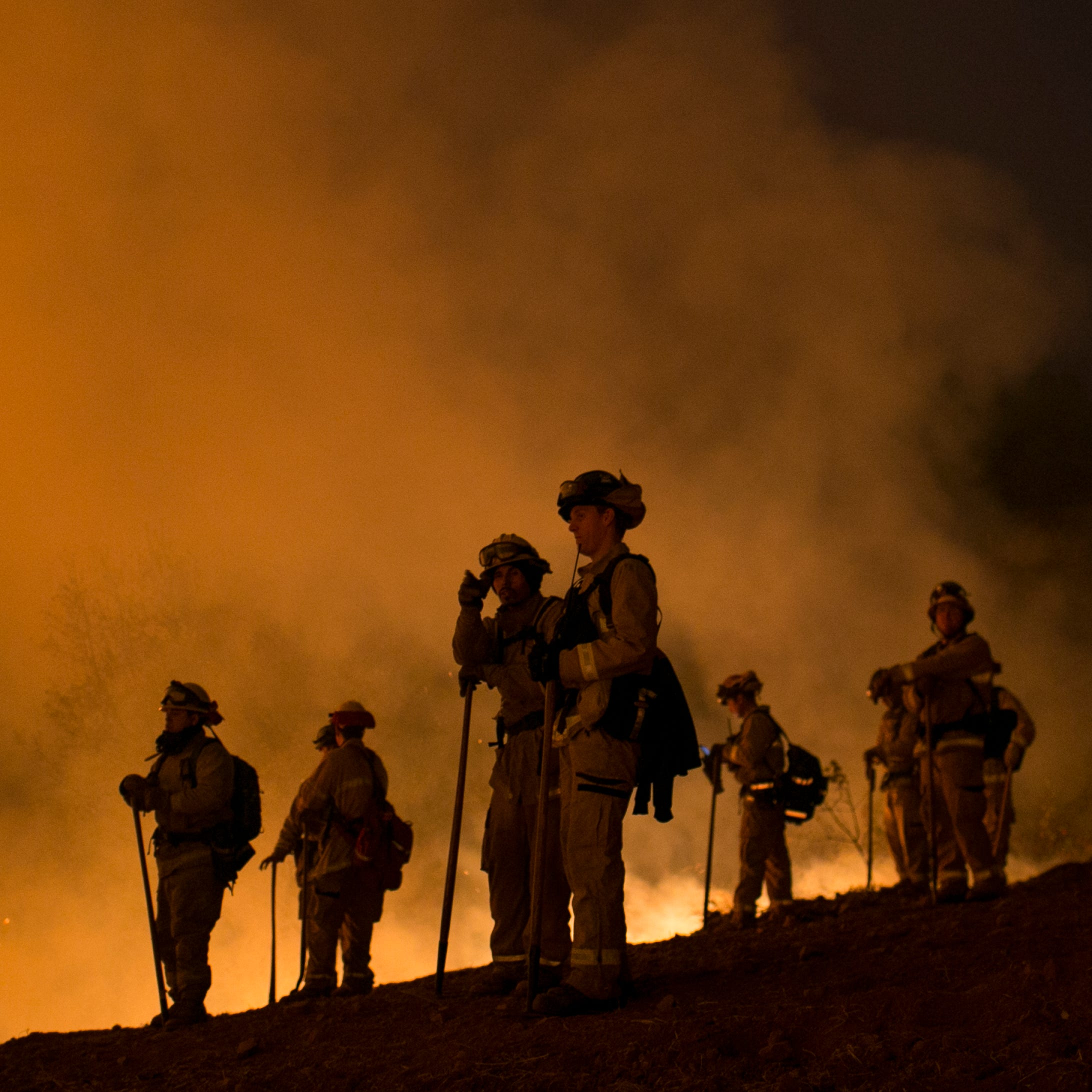 California wildfire is so big it would cover much of Des Moines metro area