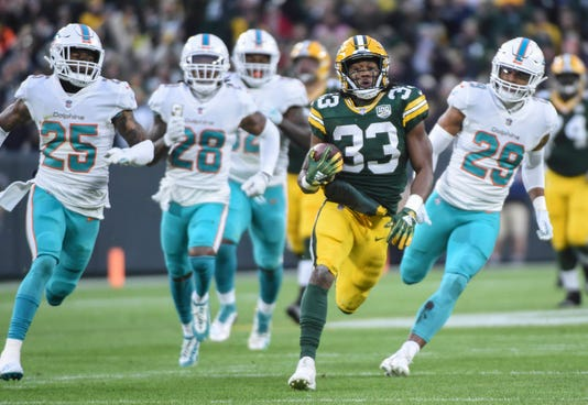 Usp Nfl Miami Dolphins At Green Bay Packers S Fbn Gb Mia Usa Wi