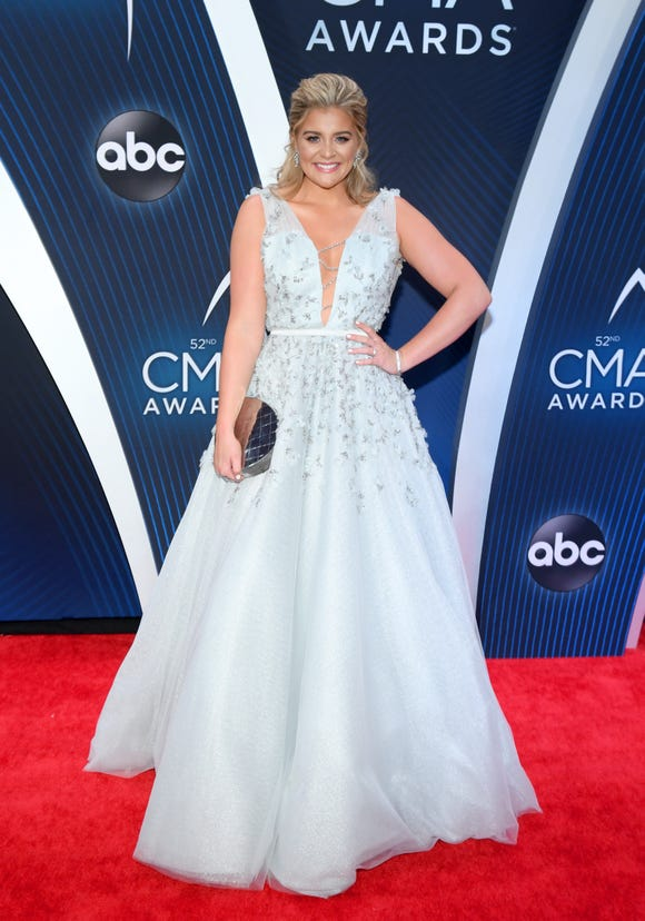 Singer-songwriter Lauren Alaina attends the 52nd annual CMA Awards at the Bridgestone Arena on November 14, 2018 in Nashville, Tennessee.