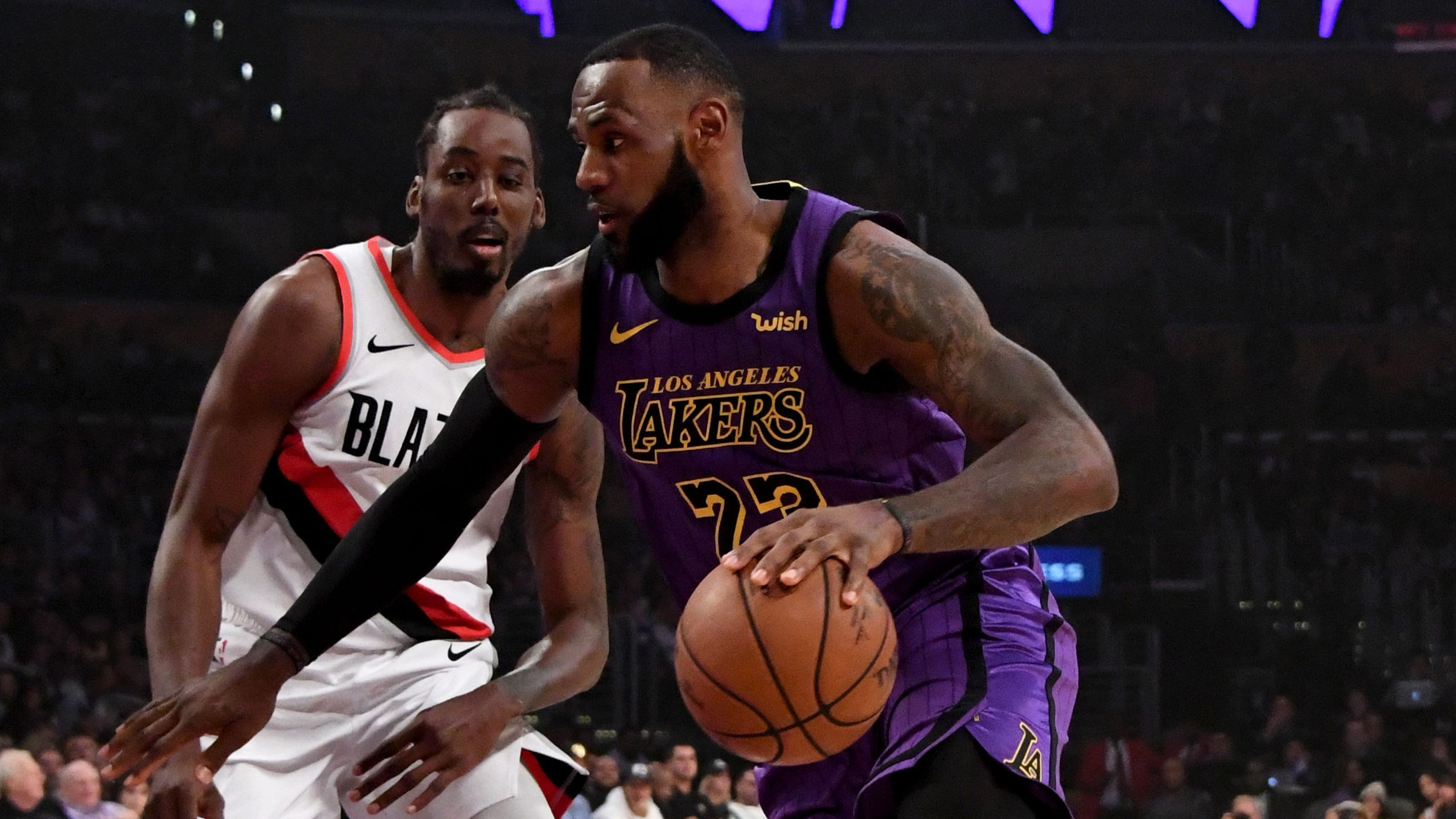 1b27ebb1875 Lakers  LeBron James passes WIlt Chamberlain for fifth place on NBA  all-time scoring list