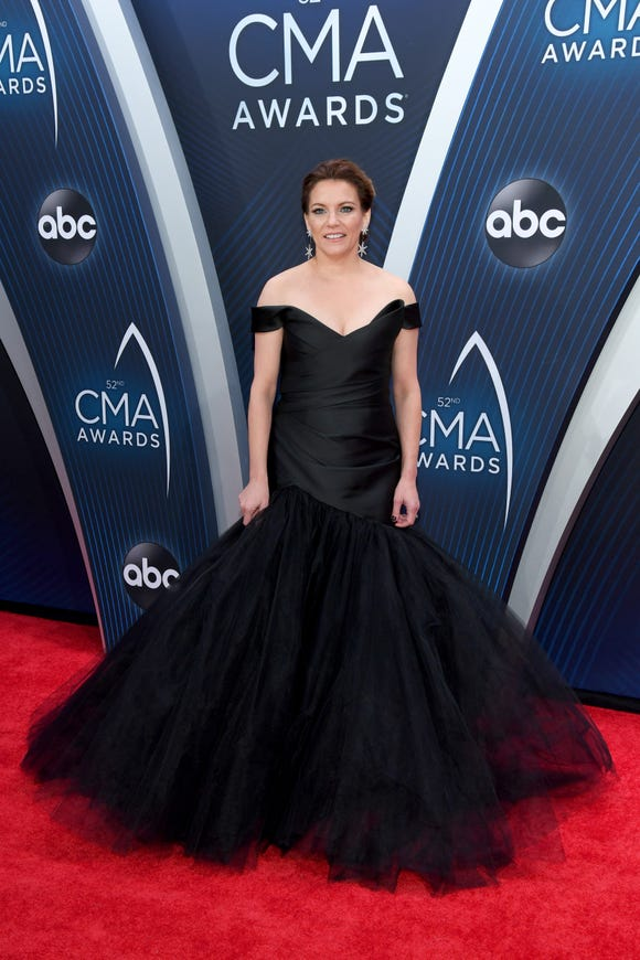 Singer-songwriter Martina McBride attends the 52nd annual CMA Awards at the Bridgestone Arena on November 14, 2018 in Nashville, Tennessee.